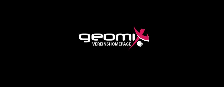Die geomix Vereinshomepage auf Facebook